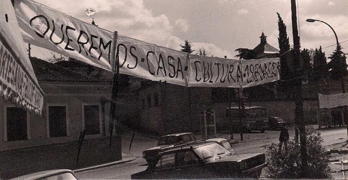 Foto histórica calle Joaquín Turina (Carabanchel) Exposición A.V. Carabanchel Alto