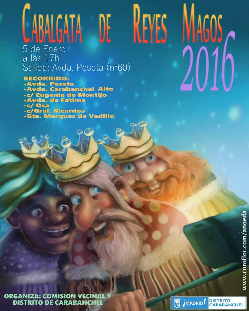 Cabalgata de Reyes de Carabanchel 2016
