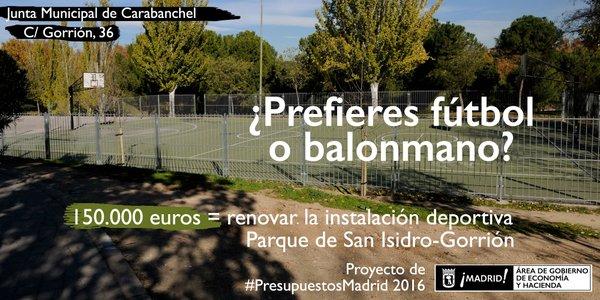 Instalación Deportiva Parque San Isidro - Gorrión
