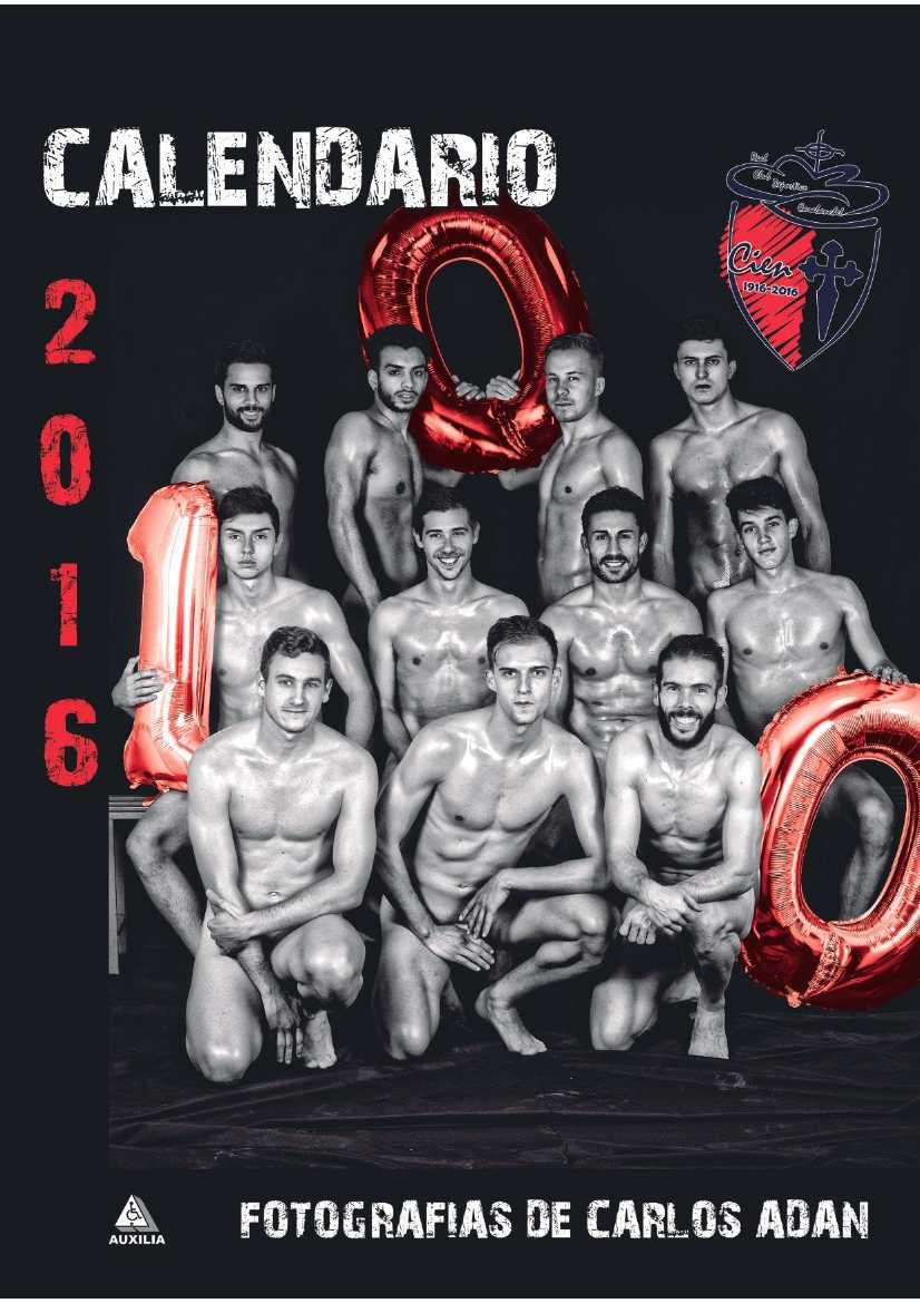 Calendario Solidario 2016 del RCD Carabanchel